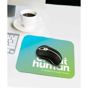 Rectangle PermaBrite™ Mouse Mat®