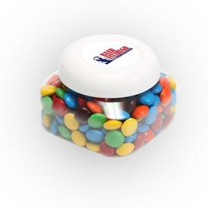 M&Ms® Plain in Lg Snack Canister