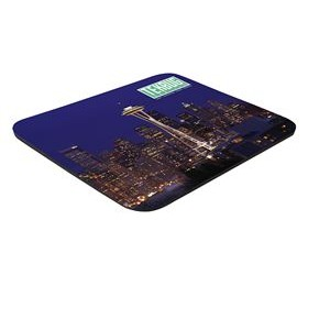 "Full Color Hard Mouse Pad (9 1/2""x8""x1/8"")"
