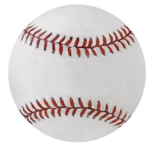 Full Color Baseball Soft Surface Mouse Pad 1/8""