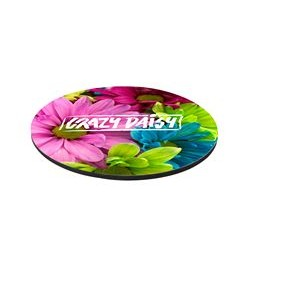 "8"" Rd 1/4"" Thick Full Color Soft Mouse Pad"