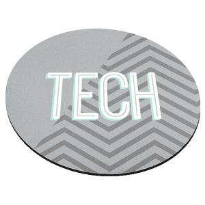 "Standard Neoprene Round Mouse Pad (9"" Diameter) 4 Color Process"